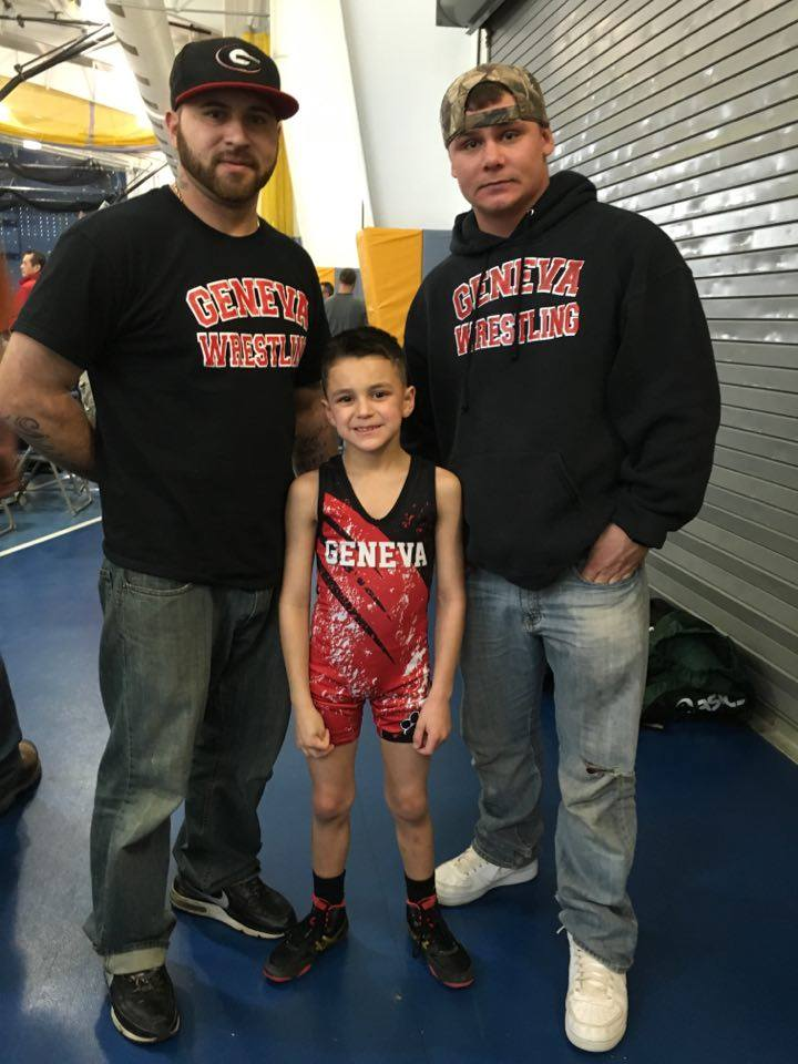Cameron Monahan (Geneva) Gets his 100th win at the Webster Youth Wrestling Tournament