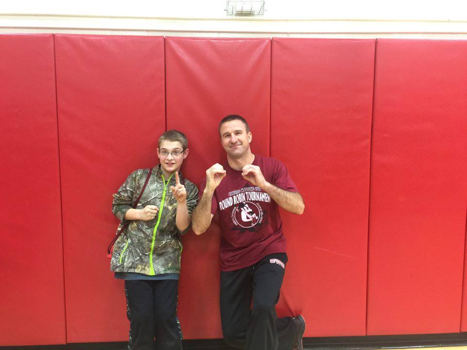 Dale Houghtaling (CWC) Gets his 100th win at The Bolivar-Richburg Youth Wrestling Tournament