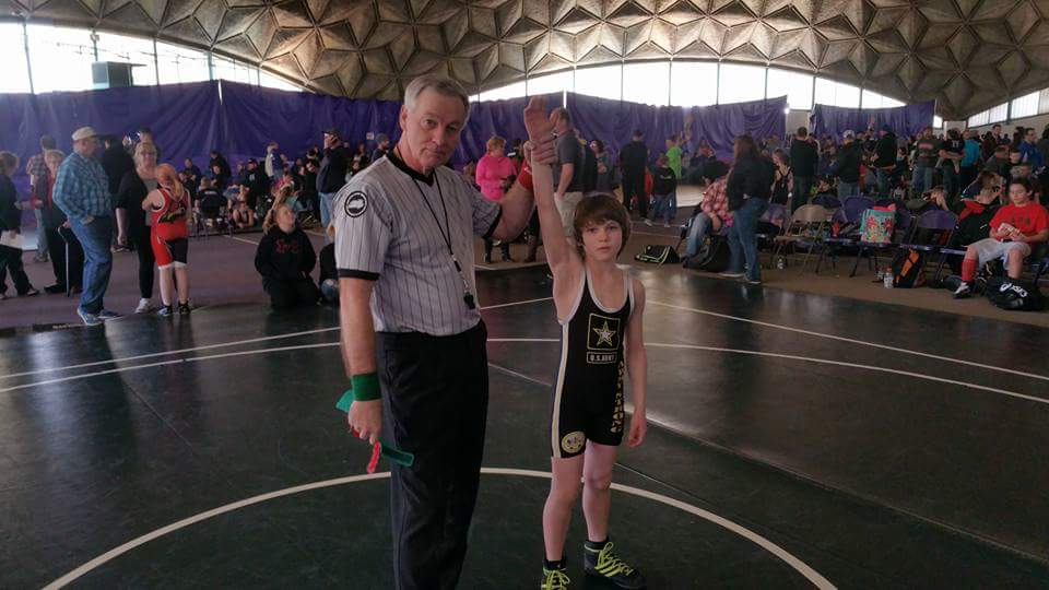 Garrett Skeens (Inferno) Gets his 500th win at The Inferno Youth Wrestling Tournament