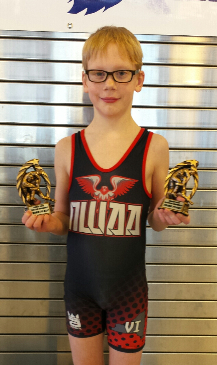 Jacob Stephenson (NWAA) Gets his 250th win at The Camden Youth Wrestling Tournament