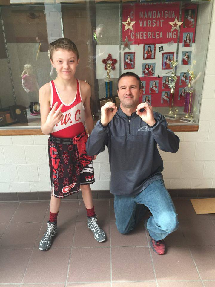 Luke Kilmer (CWC) Gets his 200th win at The Bolivar-Richburg Youth Wrestling Tournament